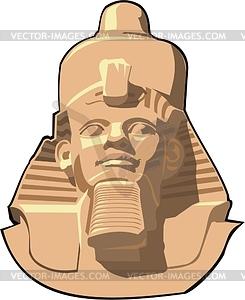 Ägyptische Mythologie - vektorisiertes Design