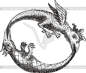 Schlangen (Donum Dei von Abraham Eleazar) - Vektorgrafik