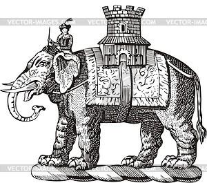 Elefant - vektorisiertes Design