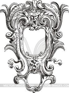 Antiker Rahmen - Vektorgrafik