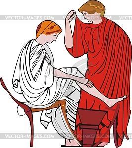 Der griechischen Mythologie - Royalty-Free Vektor-Clipart