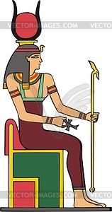 Hathor - Vector-Illustration