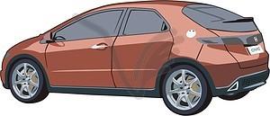 Honda - vector clip art