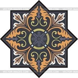Mittelalterliches Dingbat - Vektorgrafik