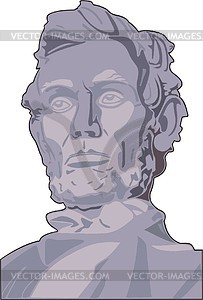 Abraham Lincoln - Vektorgrafik