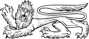 Löwe - Vektorgrafik-Design
