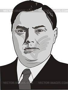 Georgy Malenkow - Vektorgrafik