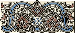 Mittelalterliche Dekoration - Vector Clip Art
