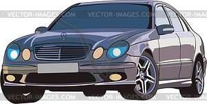 Mercedes - Vector-Bild