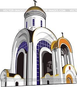 Moskau - Vektorabbildung