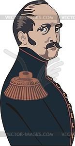 Nikolai I. - Vektor-Clipart