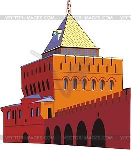 Nowgoroder Kreml - Vektor-Clipart / Vektor-Bild