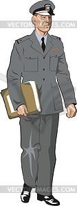 Offizier - vektorisiertes Bild