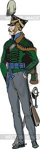 Offizier - Vektor-Abbildung