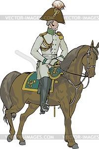 Offizier - Vector-Abbildung