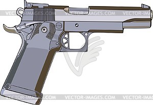 Pistole - Stock-Clipart