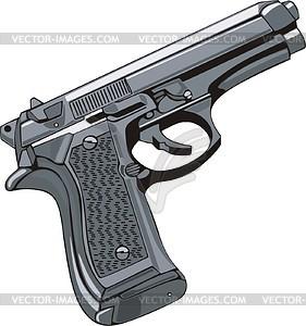 Pistole - Vektor-Clipart EPS