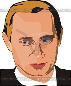 Wladimir Putin - Vektorgrafik