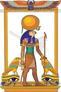 Amun Ra - Vektorgrafik