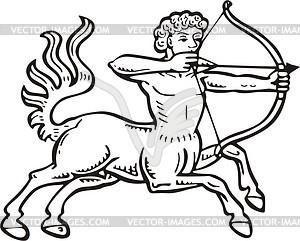 Saggitarius - Vector-Clipart / Vektor-Bild