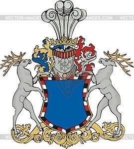 Wappen - vektorisiertes Design