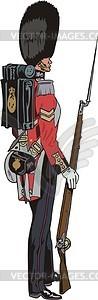 Soldat - Klipart