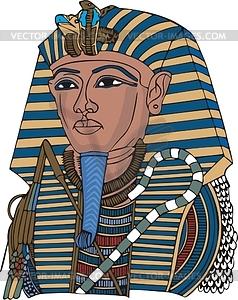 Tutanchamon - Vektorgrafik
