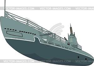 U-Boot - Vektor-Klipart