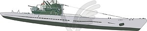 U-Boot - Stock Vektor-Bild