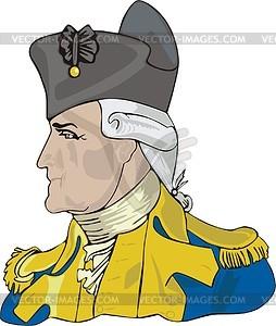 George Washington - Vektorgrafik