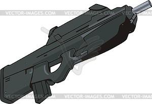 Waffe - Vektorgrafik-Design