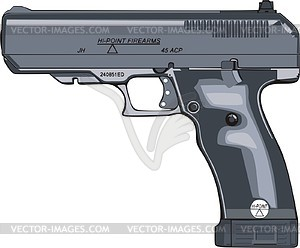 Waffe - vektorisiertes Bild