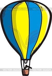 Воздушный шар - векторный клипарт