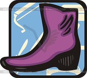 Schuhe - Vector-Clipart EPS