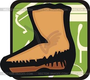 Schuhe - Vector-Clipart / Vektor-Bild