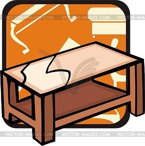Tabelle - Vektor-Klipart