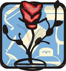 Blume - Vektor-Bild