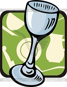 Wine glass - vector clipart