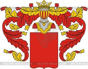 Wappenschild - Vektorgrafik-Design