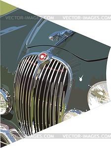 Auto - Vector Clip Art