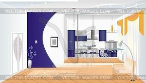 Innenraum - Vektor Clip Art