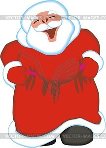 Weihnachtsmann - Vektor-Design