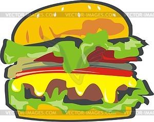 Big Mac - Vektorgrafik