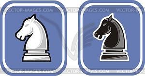Schach Springer - Vektor Clip Art