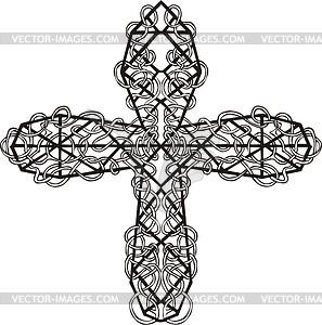 Kreuz-Geflecht - Vektor Clip Art