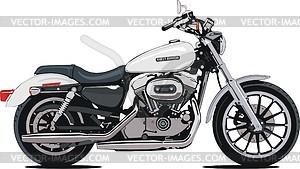 Motorrad Harley-Davidson XL 1200L Sportster - Vektorgrafik