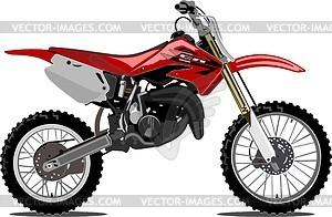 Motorrad Honda CR85R Expert - Vektorgrafik