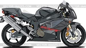 Motorrad Honda RC51 - Vektorgrafik