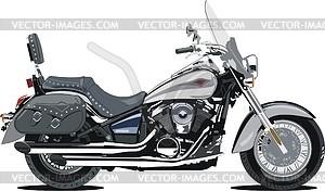 Motorrad Kawasaki Vulcan 900 Classic LT - Vektorgrafik