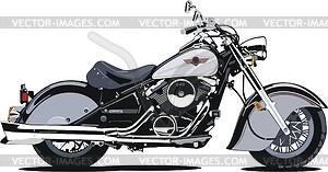 Motorrad Kawasaki Vulcan 800 Drifter - Vektorgrafik